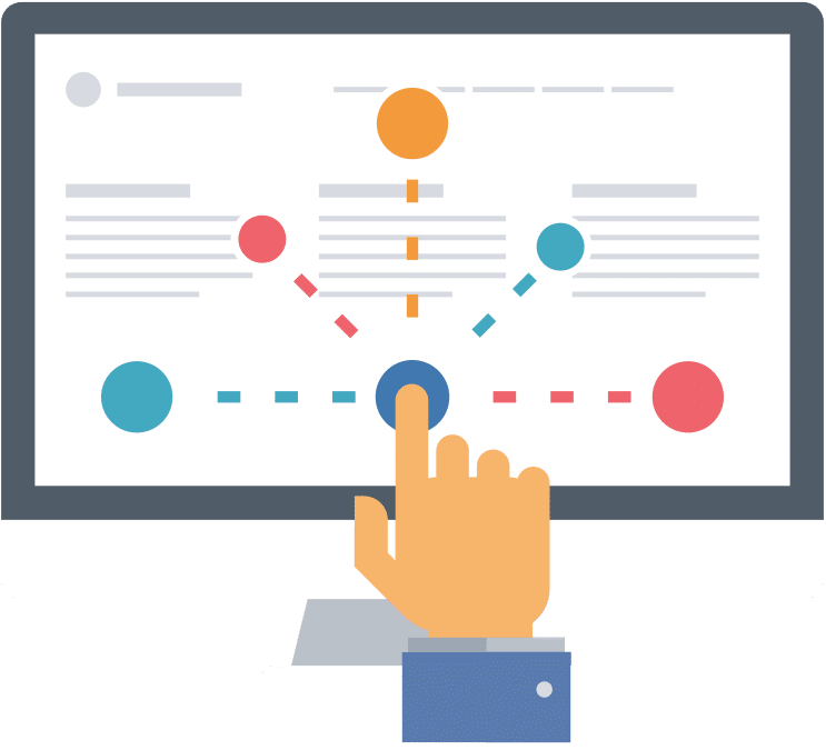 C\'est au fil de leur navigation sur votre site que vos visiteurs tisent leur parcours client. A vous de l\'optimiser pour emmener ces visiteurs jusqu\'à vos pages stratégiques...