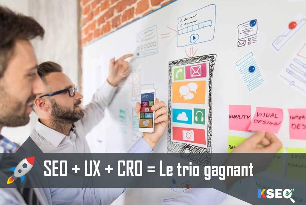 Conjuguer SEO, UX et CRO est sans conteste la stratégie gagnante pour optimiser son site internet et booster ses résultats.