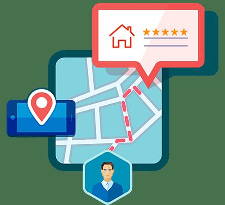Le référencement local permet de classer favorablement son site internet sur une zone géographique donnée (une ville, un département...)