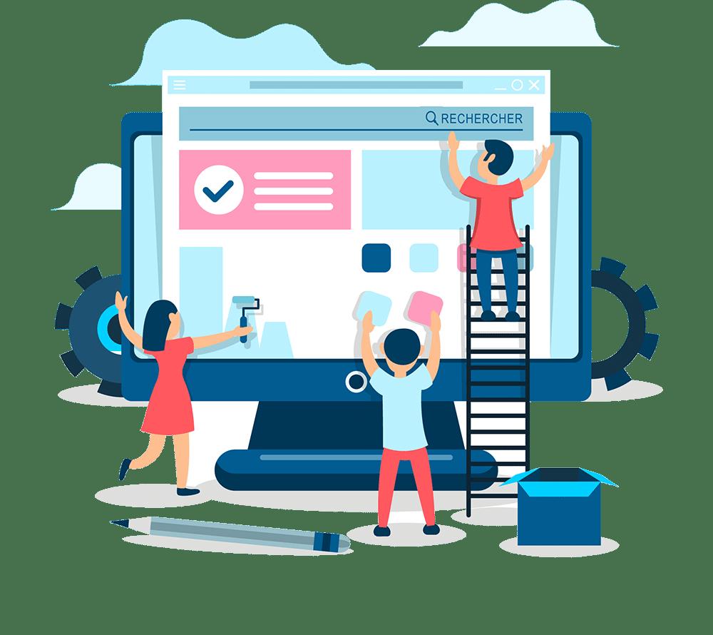 La refonte d\'un site internet n\'est pas un simple ravalement de façade mais bien une mise en chantier plus profonde et structurelle nécessitant l\'accompagnement d\'un professionnel de la gestion de projet web.